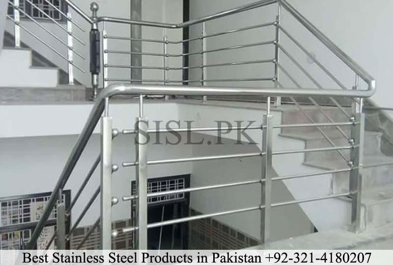 Simple steel pipe railing pakistan