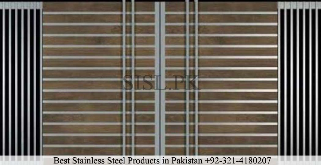 Steel gate lahore house
