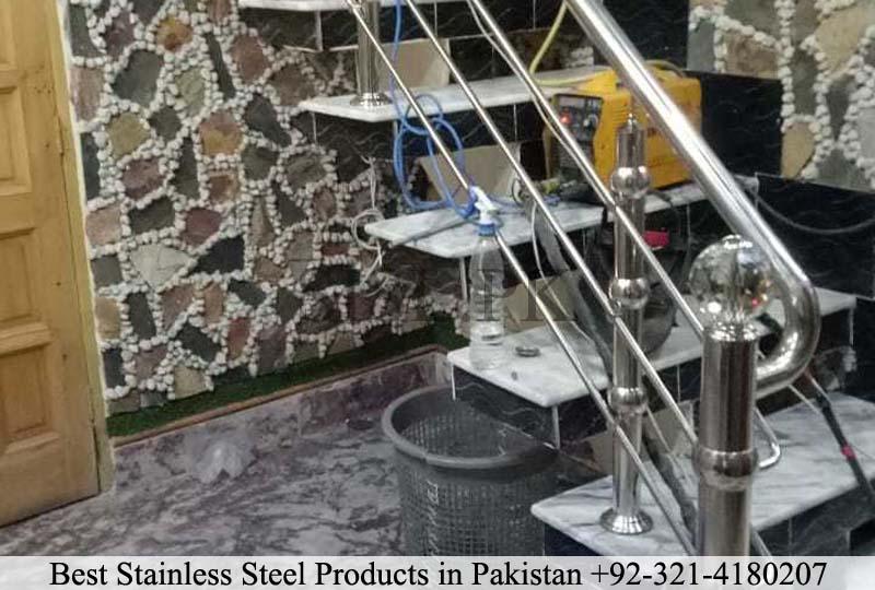 Steel railing lahore
